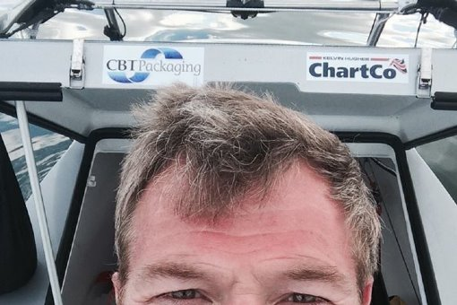 Charlie Pitcher - rowing round the UK